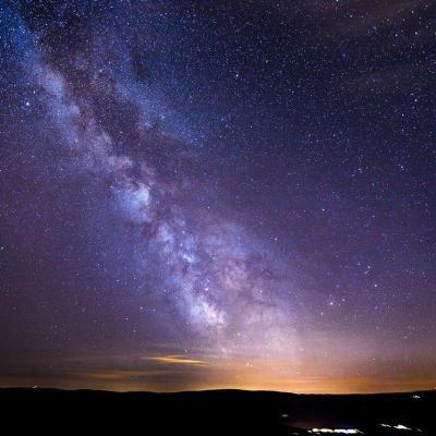 Les étoiles dans la voie lactée