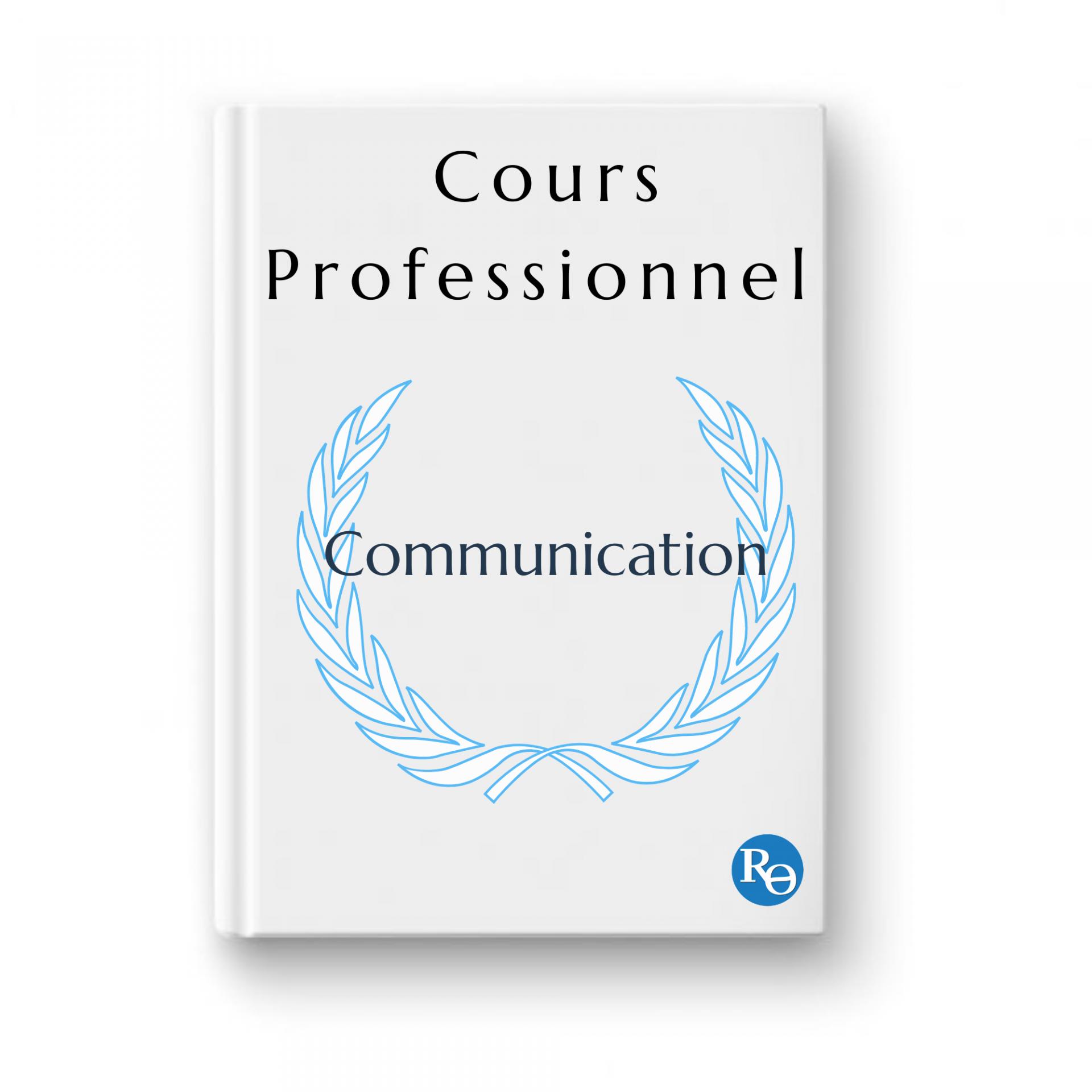 Cours professionnel communication