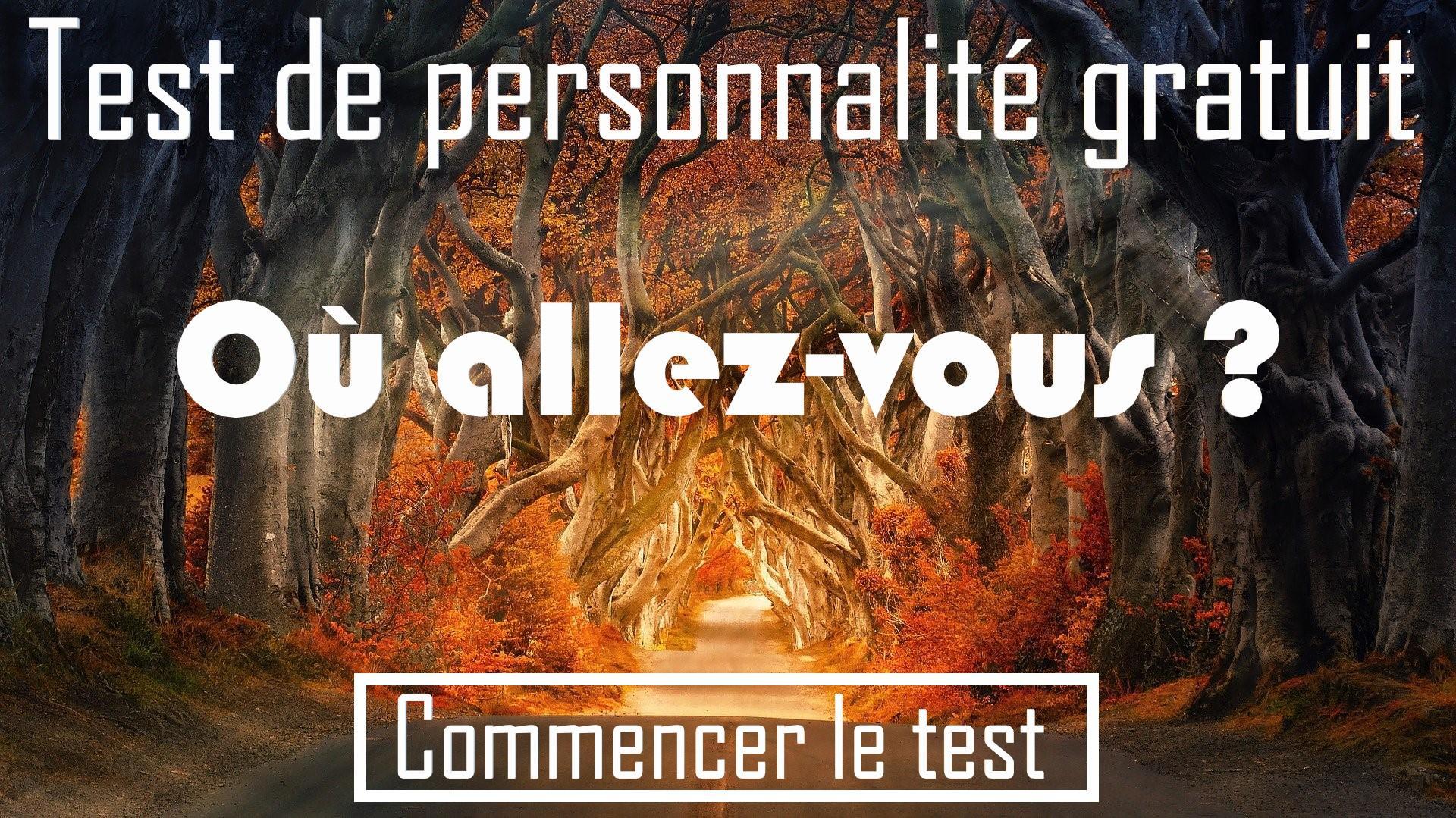 Test ou allez-vous?